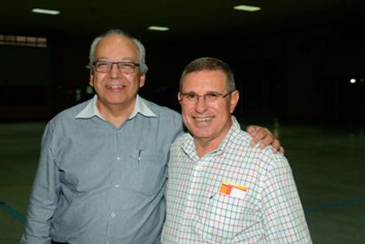 Roberto João de Deus, Diretor Executivo da ABIFA e Pedro Cruz, Diretor Regional