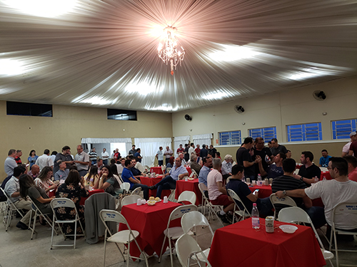 A 20ª Festa do Fundidor reuniu 150 pessoas