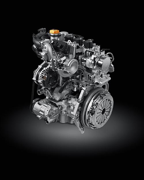 Motor T3 GSE turbo 1 L / três cilindros