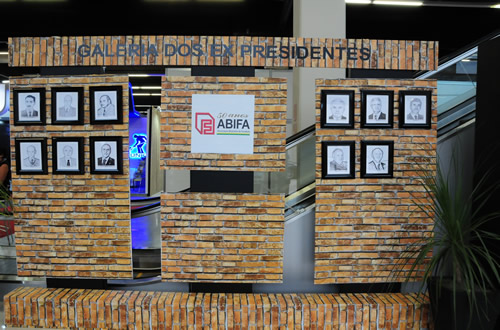 Painel de ex-presidentes nestes 50 anos de ABIFA.