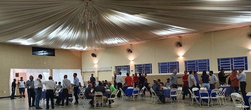 A 21ª Festa do Fundidor reuniu 123 pessoas.