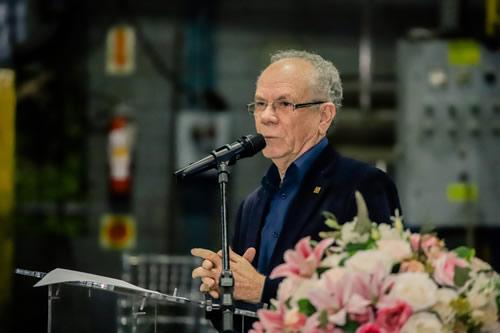 Afonso Gonzaga, presidente da ABIFA, discursa na Festa do Fundidor 2019
