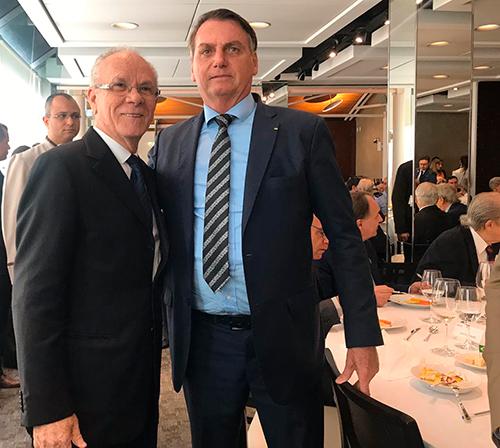 Afonso Gonzaga participa de evento que reuniu o Presidente da República e seus ministros em São Paulo