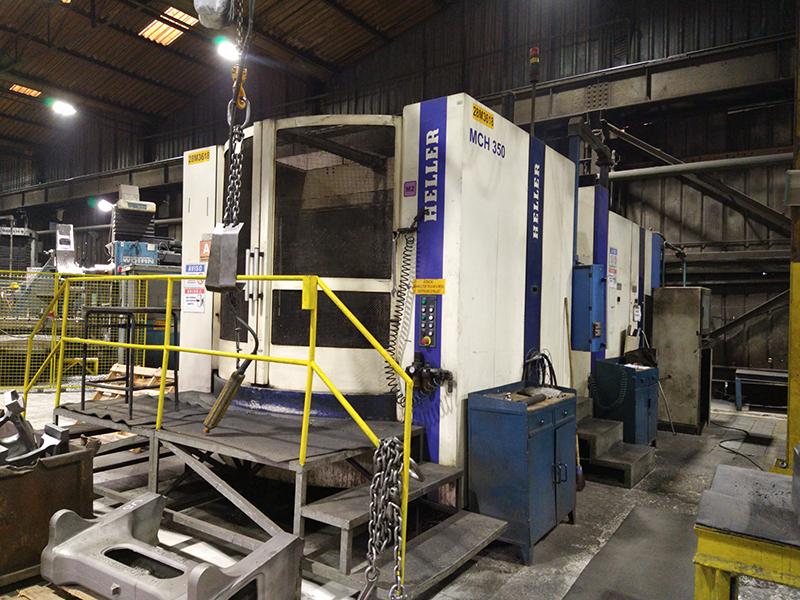 AmstedMaxion investe em maquinário, para aumento da capacidade de usinagem.