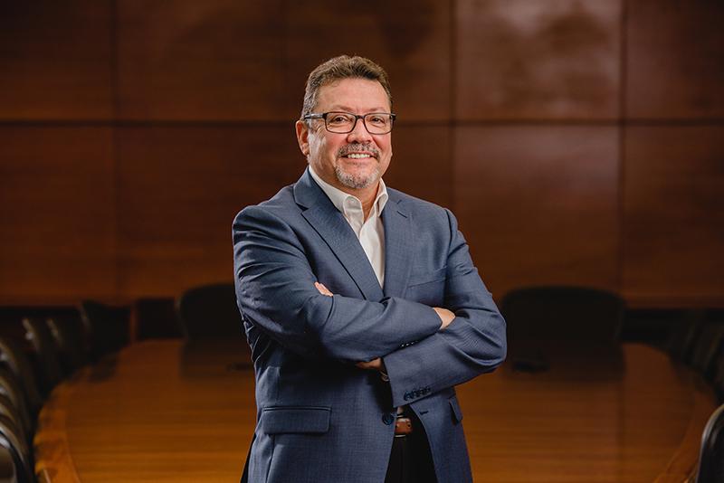 Sérgio L. Carvalho, vice-presidente executivo e COO das Empresas Randon e CEO da Fras-le. (Crédito da imagem: Alex Battistel)
